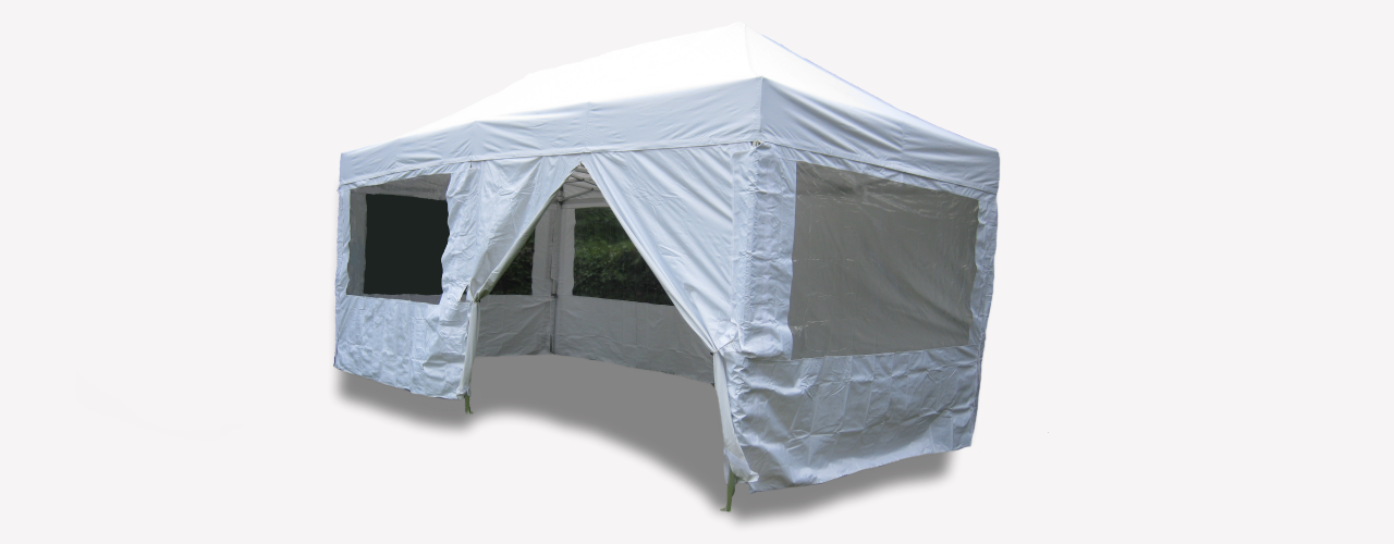 Pop-up marquees for sale