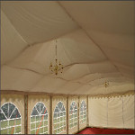 Picture of Marquee interior lining