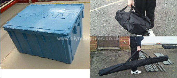 Marquee carry bags & boxes for sale