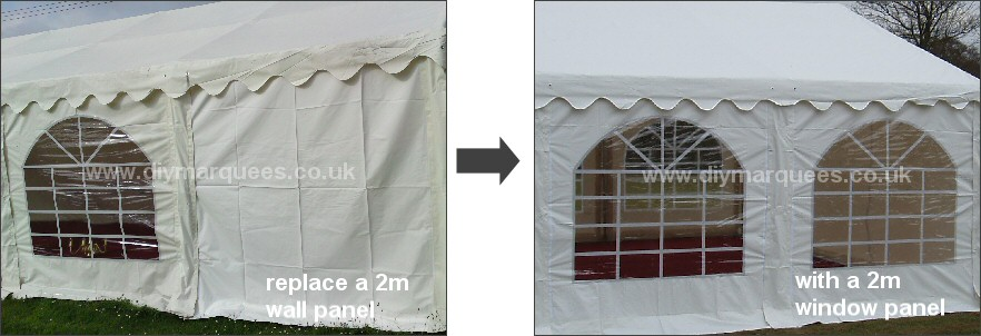 Marquee windows for sale