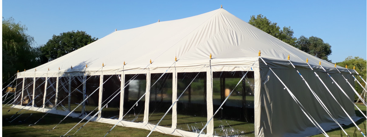 9x18m Traditional Marquee