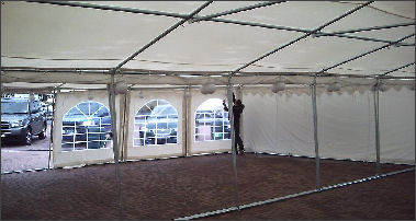 Marquee guttering kits for sale