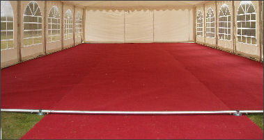 Marquee Flooring and carpets for sale